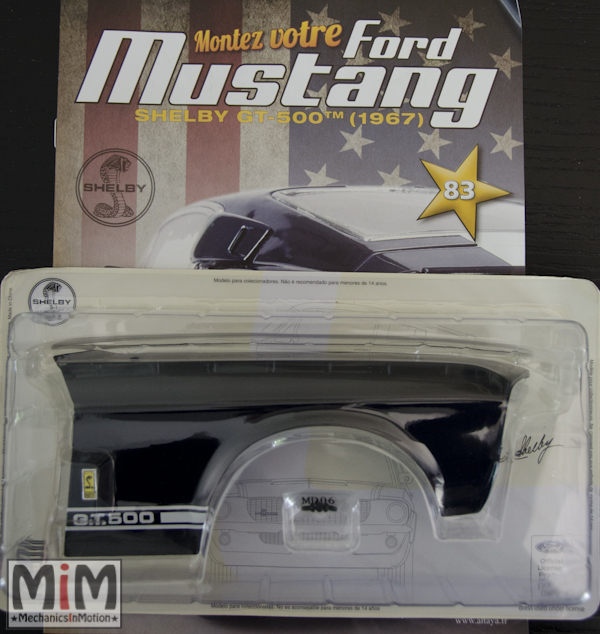 Ford Mustang Shelby GT 500 au 1:8 - fascicule 83