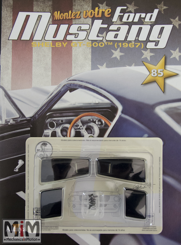 Ford Mustang Shelby GT 500 au 1:8 - fascicule 85