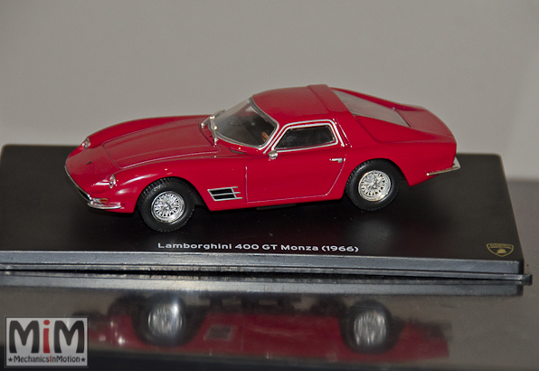 42 - Hachette Lamborghini Collection | Lamborghini 400 GT Monza