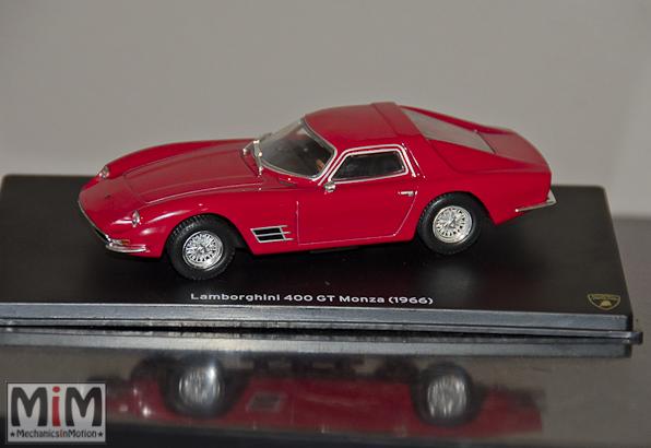 42 - Hachette Lamborghini Collection | Lamborghini 400 GT Monza