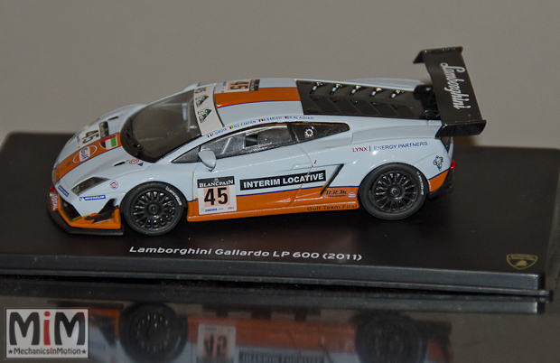 43 - Hachette Lamborghini Collection | Lamborghini Gallardo LP 600