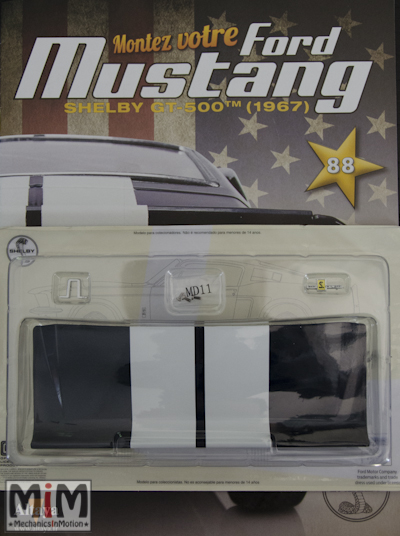 Ford Mustang Shelby GT 500 au 1:8 - fascicule 88