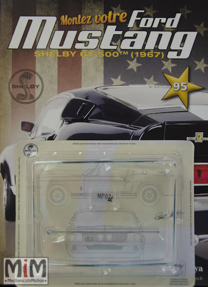 Ford Mustang Shelby GT 500 au 1:8 - fascicule 95