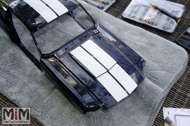 Ford Mustang Shelby GT 500 au 1:8 - le montage étape 9i