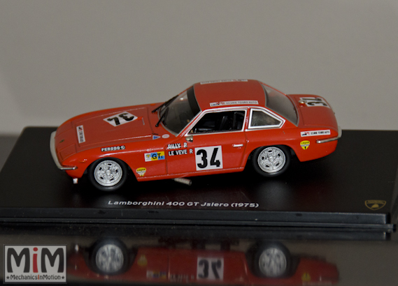 47 - Hachette Lamborghini Collection | Lamborghini 400 GT Islero