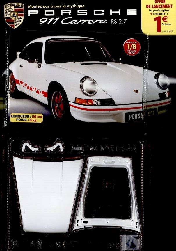 Altaya Porsche 911 Carrera RS 2.7 - fascicule 1