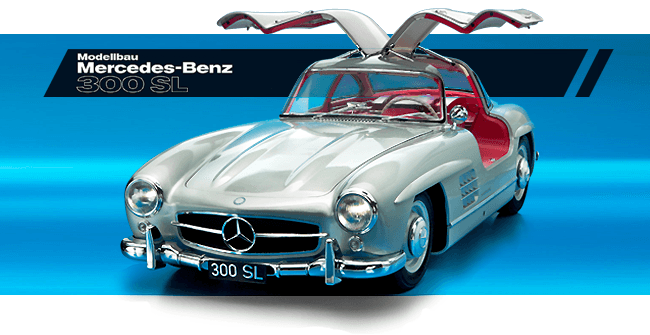 Mercedes-Benz 300 SL coupé au 1/8è par Eaglemoss