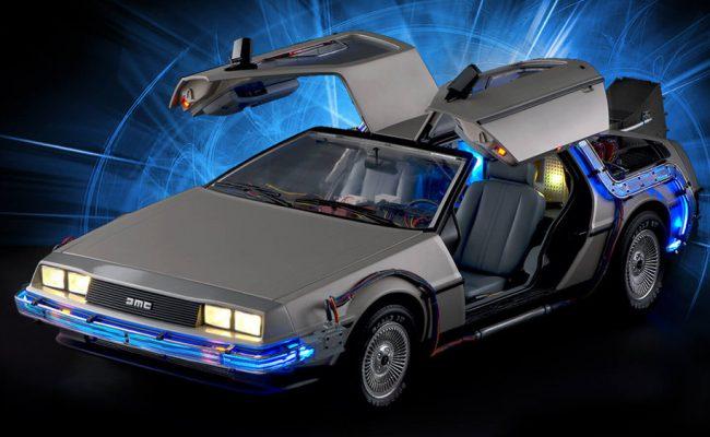 DeLorean de Retour vers le Futur au 1/8è par Eaglemoss
