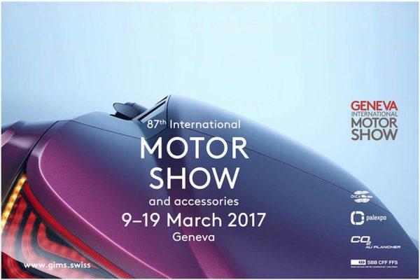 Salon automobile de Genève 2017