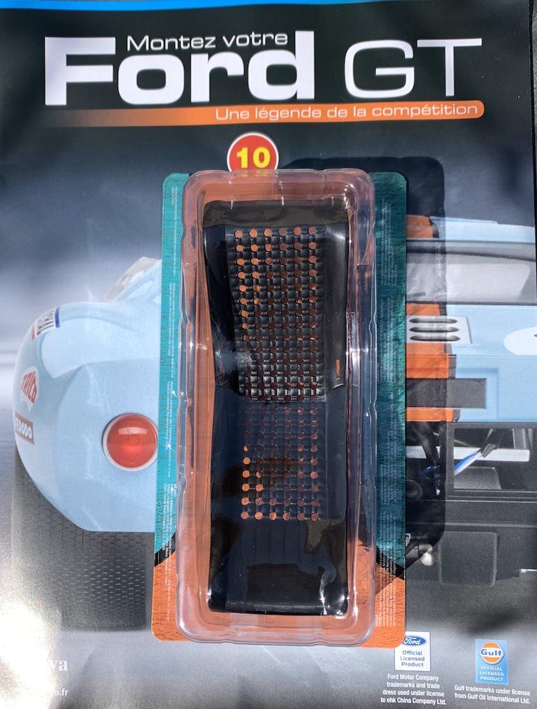 Fascicule #10 - Ford GT40 par Altaya
