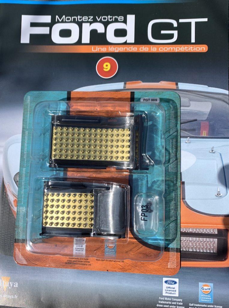 Fascicule #9 - Ford GT40 par Altaya