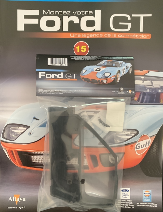 Fascicule #15 - Ford GT40 par Altaya